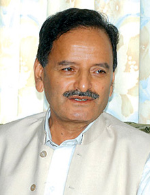 Krishna Sitaula in 2016
